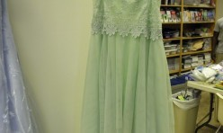 Lime Green Strapless Fairy Inspired - Juniors Size 13/14