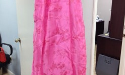 Barbie Pink dress with beading - size 7/8